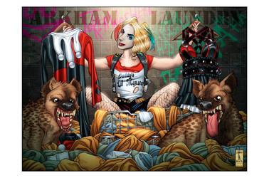 Choices (Harley Quinn)(Colored) by LVCIFERX