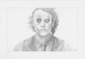 The Joker by LVCIFERX