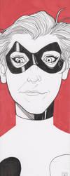 Harley Quinn Sketch by LVCIFERX