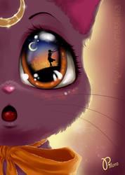 Luna Cat by Pillara