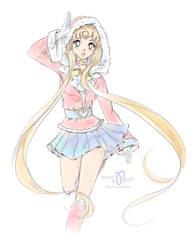 New Year Sailor Moon 02 by Pillara