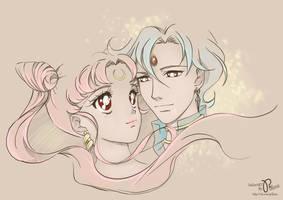 Romance in the world of Sailor Moon by Pillara