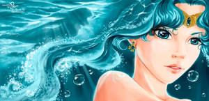 Sailor Neptune by Pillara