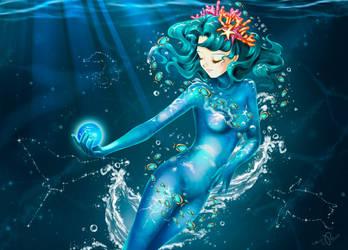Queen of the seas by Pillara