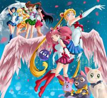 Sailor Moon All by Pillara