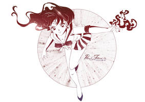 Sailor Mars by Pillara