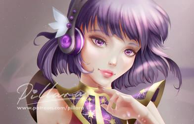 Listen to your planet_Hoteru_SailorMoon by Pillara
