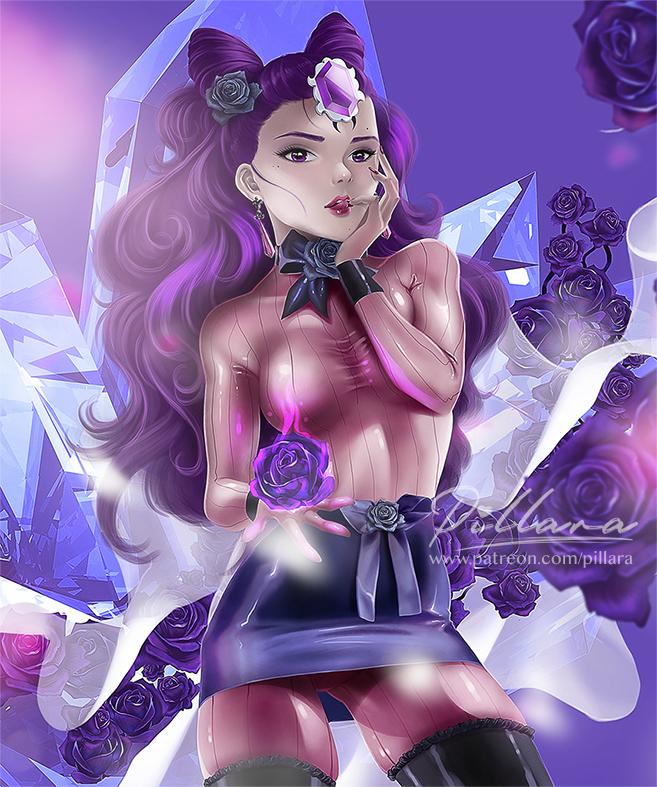 Shiny villain_SailorMoon_DarkMoon_Fanart by Pillara