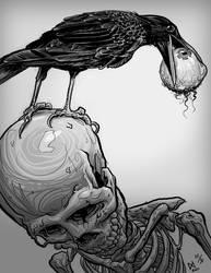 A Crow by quasilucid