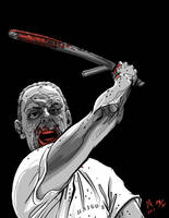 Hannibal Lecter by quasilucid