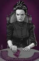 Venessa Ives from Penny Dreadful by quasilucid