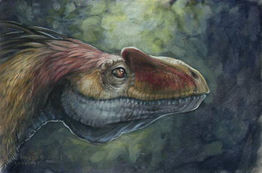 Fat Jaw'd Theropod by sitar