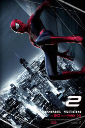 The Amazing Spider-man 2 Movie Poster by bpenaud