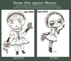 Draw This Again Meme by BlueRoseArkelle