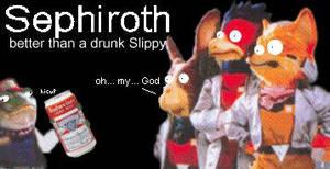 Drunk Sephiroth by sephiroth-kmfdm