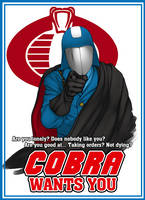 COBRA WANTS YOU by McArson