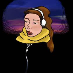 YellowScarf by J-Dimani