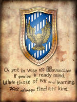 Ravenclaw Poster by GeijvonTaen