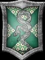 Slytherin Crest by GeijvonTaen