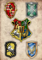 All the crests together by GeijvonTaen