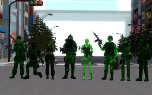 Green Spider Headquarters - Class Soldiers by ASpider25