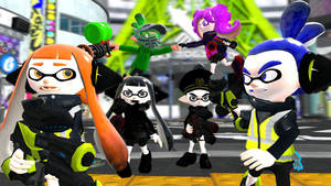 Splatoon - Dark Squid Vengeance by ASpider25