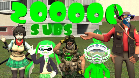 Alex Spider's 200,000 Subscribers GMOD Picture by ASpider25