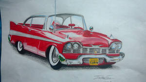 1958 Plymouth fury by captaincrunch1950