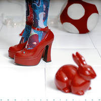 Follow the red rabbit I by Alyz