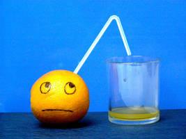Orange juice by FriXedAirwave