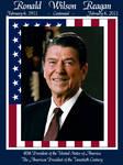 Ronald W. Reagan Centannial by dragonpyper
