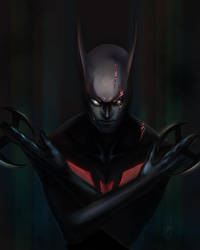Batman Beyond by lGSG-9Sniper01