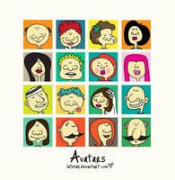 Free Avatars by Latefah