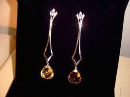 Silver Earrings by raulsouza