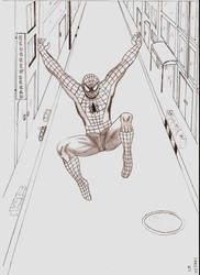 spider man by laribecko