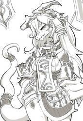 Dragon Priest by Kameloh