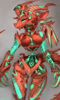 Dragon Mech by Kameloh