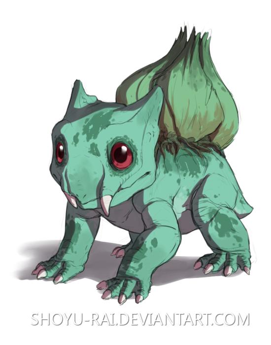 Bulbasaur by Shoyu-Rai