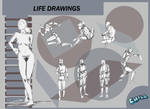 Life Drawings 3 by PCHILL