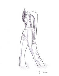 Fashion sketch 2 by PCHILL