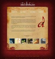 Personal Website by Ashitaka-moon