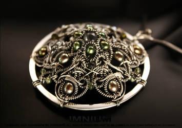 Circle of life pendant - details by IMNIUM