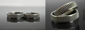 Wedding rings by IMNIUM