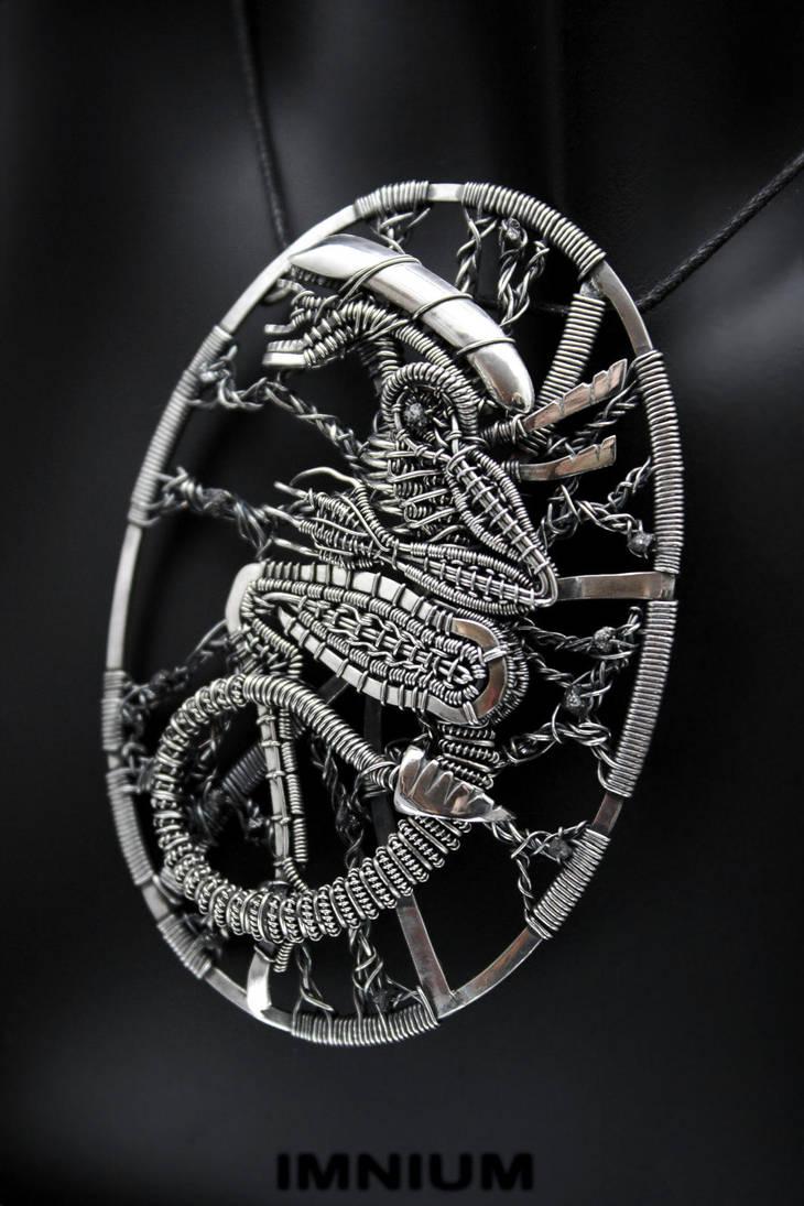 Alien Pendant IV by IMNIUM