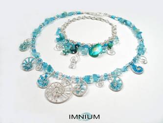 00607 Necklace set by IMNIUM