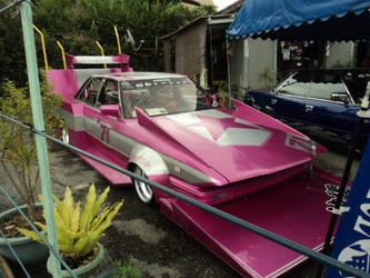 Japanese Pink Car by FunSmilies