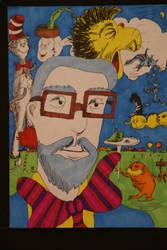 Dr Seuss by ickyface
