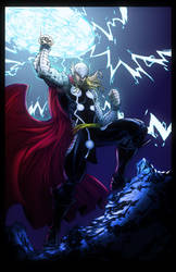 Thor colored by Vonny88