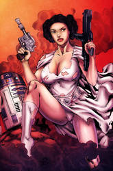 Leia Colored by Vonny88