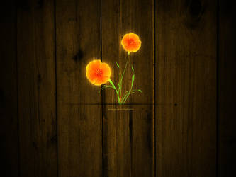 Lighting flower by EAMejia